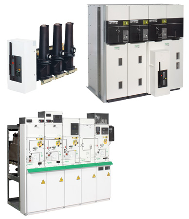 MV/LV transformer protection with circuit breaker